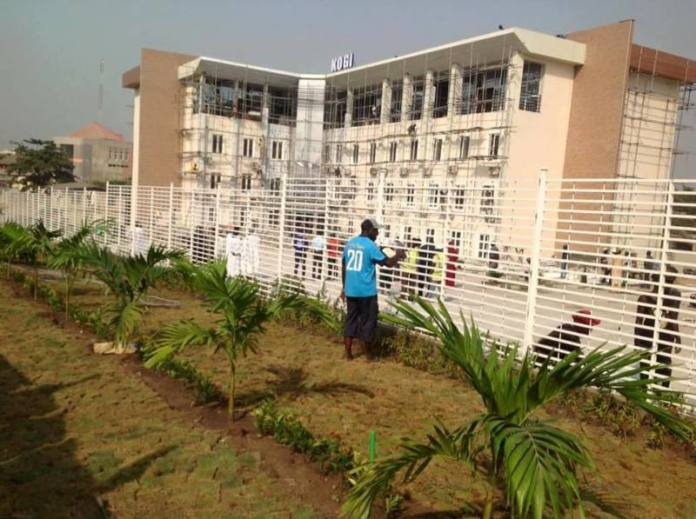 Kogi State Building administrative offices for govt officials and civil servants