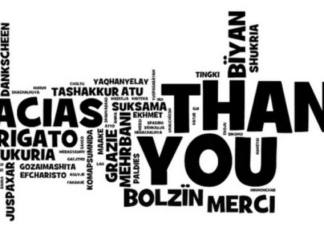 Learn to say Thank You!