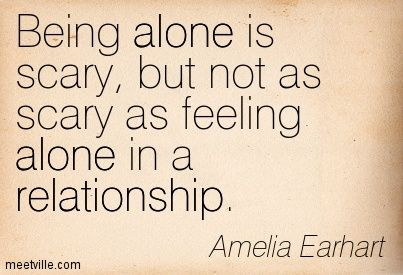 Lonely in relationship