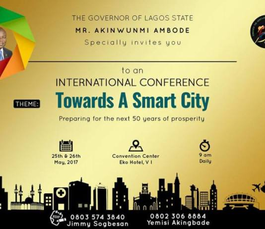 Lagos at 50 - towards a smart city