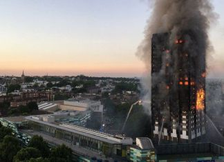Grenfell Tower Fire - PICTURE COURTESY BBC