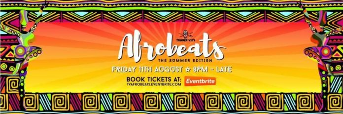 Trader Vic's presents Afrobeats the Summer edition
