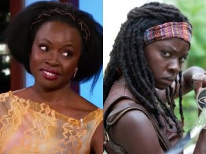 Danai Gurira channels the walking dead character to fend off coyote