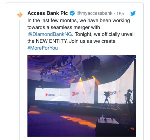 Access Bank becomes largest retail bank in Nigeria reveals new logo