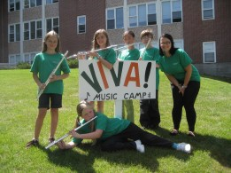 Flutes at Viva Camp 2010