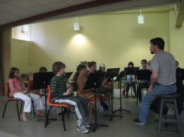 Band Rehearsal at Viva Camp 2011.