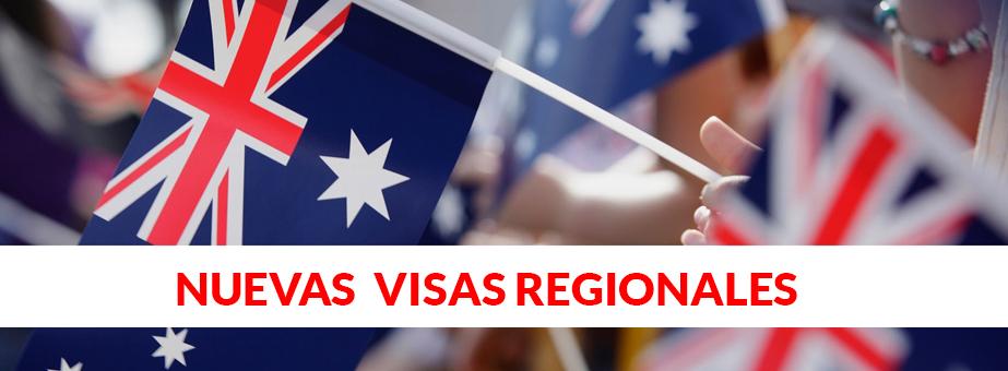 Australia anuncia dos nuevas Skilled Regional visas