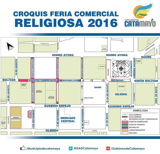 Croquis Feria Comercial Religiosa 2016