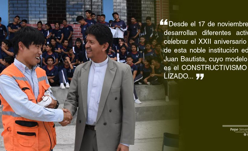 Historia Unidad Educativa San Juan Bautista