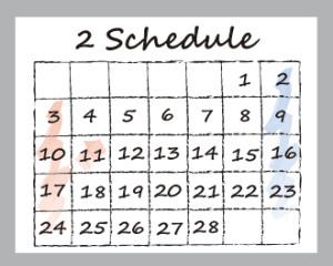 2013-2月カレンダーNEWS