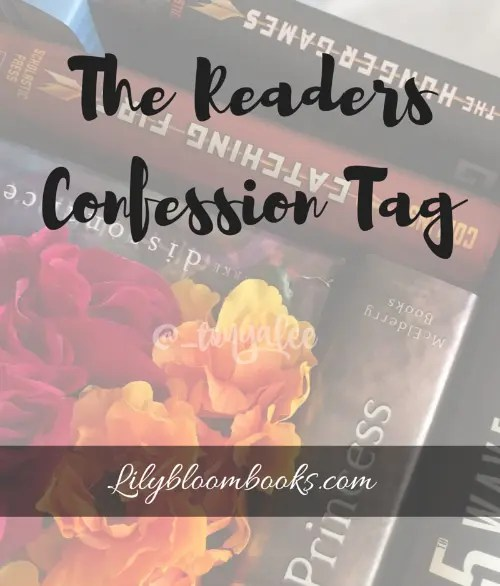 The Readers Confession Tag