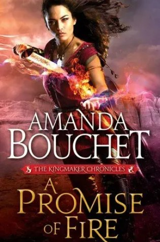 A New Fantasy Series to add to your #TBR // A Promise of Fire by Amanda Bouchet