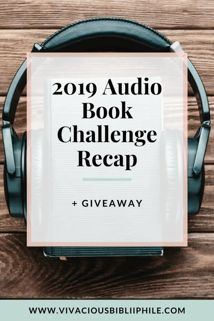 2019 Audio Book Challenge Recap