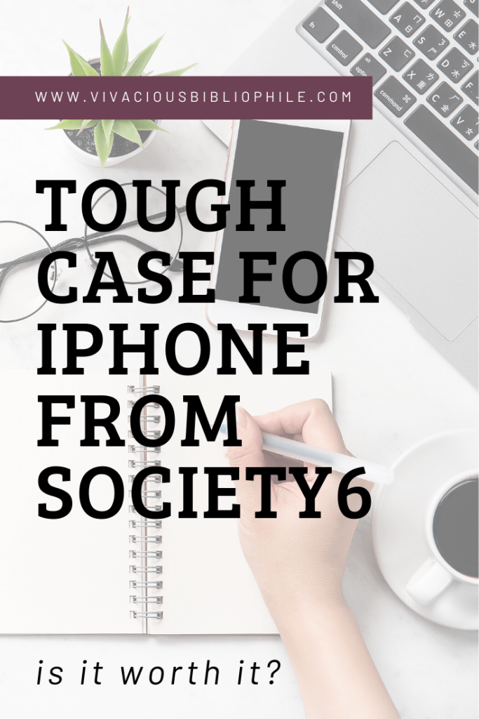 iPhone tough case from society6
