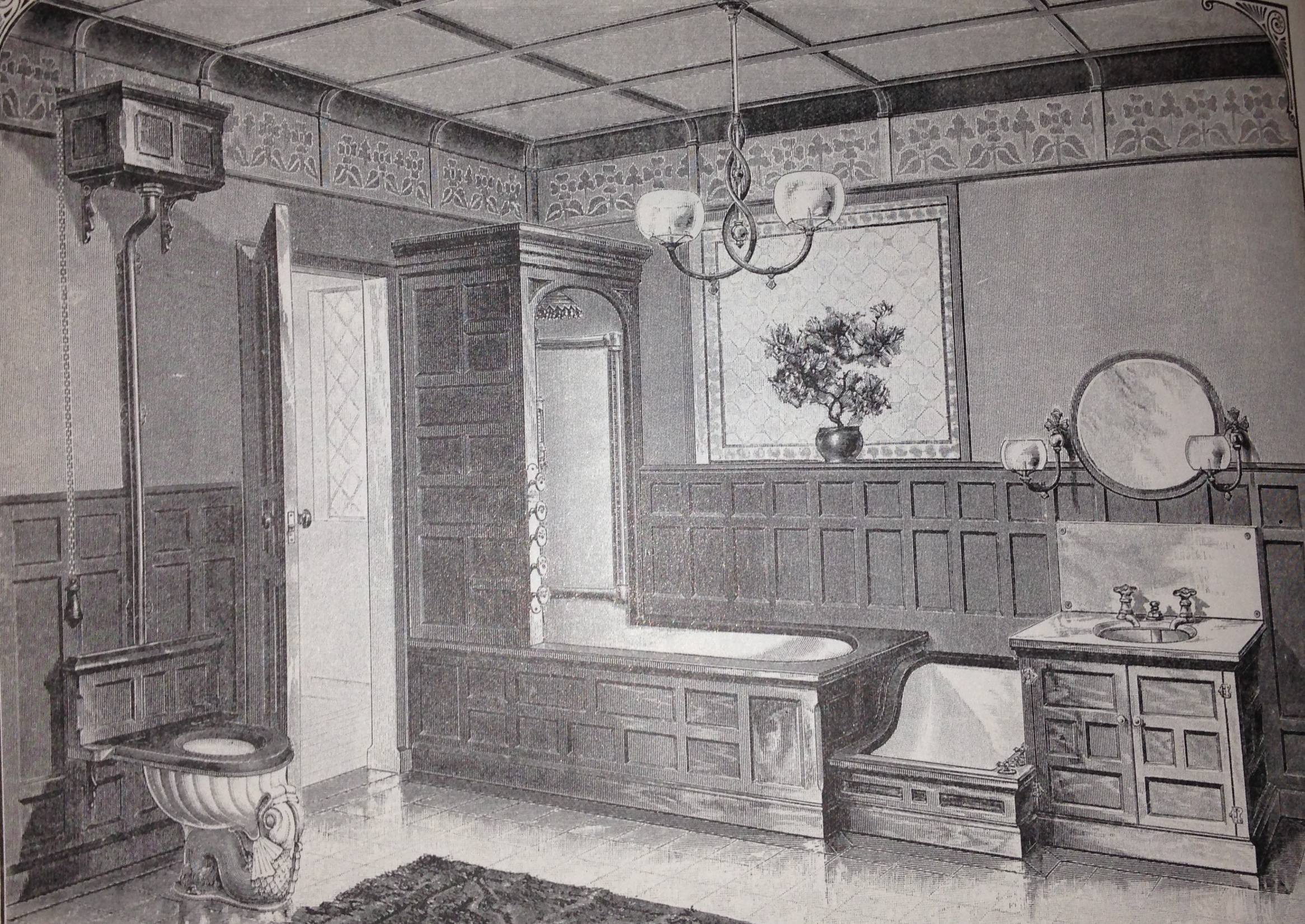 Image of: Victorian Bathrooms A History Lesson Vivacious Victorian