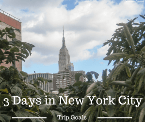 3 Days in New York City