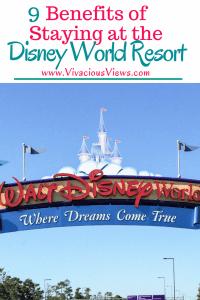 Benefits of Staying at the Disney World Resort. Vivacious Views. Pinterest