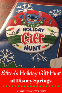 Stitch's Holiday Gift Hunt at Disney Springs. Pinterest. Vivacious Views