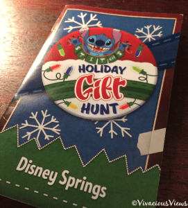 Stitch's Holiday Gift Hunt. Disney Springs. Vivacious Views