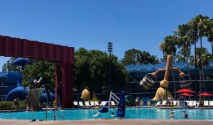 All-Star Movies Resort. Vivacious Views. Fantasia Pool Area