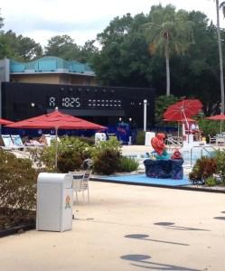 All-Star Music Resort. Vivacious Views. Piano Pool