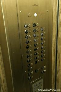 Wellington Hotel. Elevator. Vivacious Views