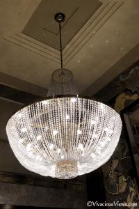 Wellington Hotel. Lobby Chandelier. Vivacious Views