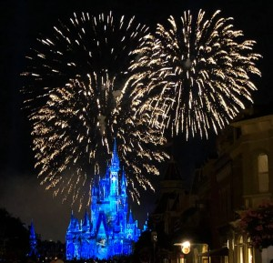 Memorial Day at Disney World. Happily Ever After Fireworks. Vivacious Views