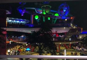 Memorial Day at Disney World. People Mover. Vivacious Views