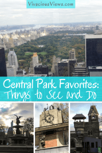 Central Park Faves. Pinterest. Vivacious Views