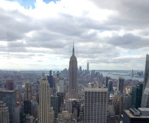 Empire State Building vs Top of the Rock. One World Trade View. Vivacious Views