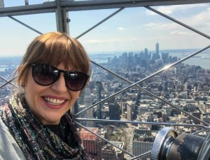Empire State Building. Observation Deck. Vivacious Views