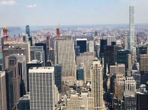 Empire State Building. Rockefeller Center View. Vivacious Views