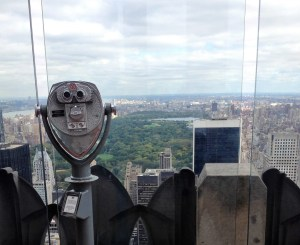 Top of the Rock. Central Park View. Vivacious Views