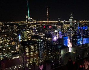 Top of the Rock. Times Square View. Vivacious Views