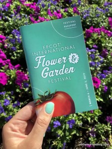 2019 Epcot Flower and Garden Festival. Passport. Disney Food Blog