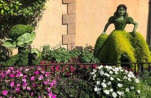 2019 Epcot Flower and Garden Festival. Snow White. Vivacious Views