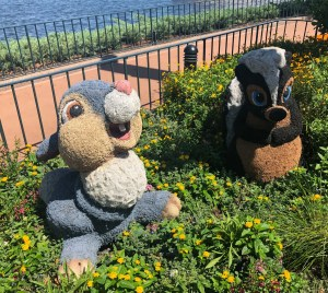 2019 Epcot Flower and Garden Festival. Thumper. Vivacious Views