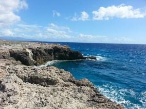 Blue beach in Cuba.