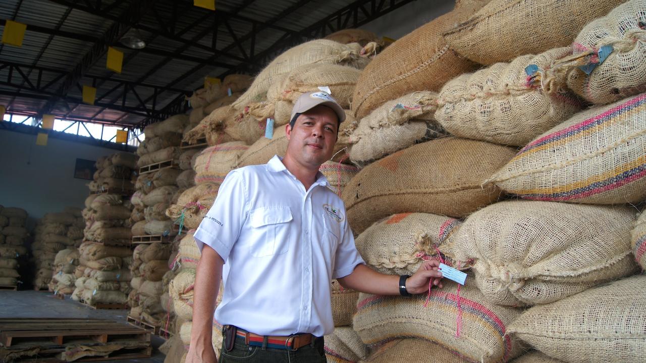 Armando Parra, presidente de Chococao
