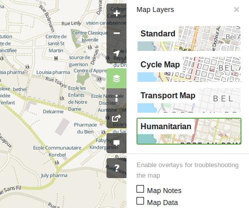 OpenStreetMap Humanitario