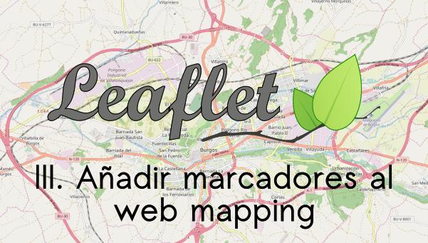 Añadir marcadores a un mapa de Leaflet: L marker y L icon
