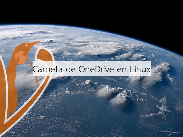 Añadir una carpeta de OneDrive en Linux sincronizada