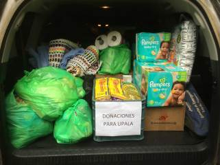 Supplies for Hurricane Otto Recovery