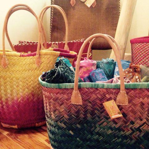 Mandarina Y Sol Woven Bags