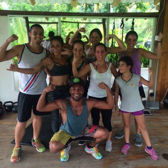 Team Florblanca Training with Jill Payne