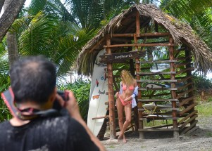 Victoria's Secret Candace at Surfboard Shack