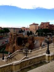 Ruins in Bologna.