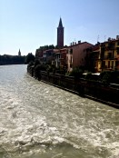 River running through Verona.