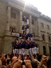 Human towers, cast ells.